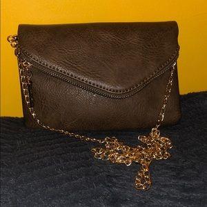 Handbags - Mini Crossbody Handbag - Brown